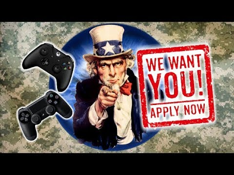 The US ARMY Wants YOU... To Play... ESports!?