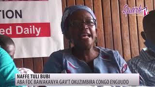 Aba FDC bawakanyizza ekya gavt okuzimba enguudo e Congo