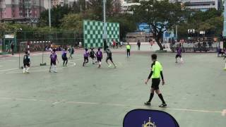 26/2/2017賽馬會五人足球盃(學校組)中華基督教青年會