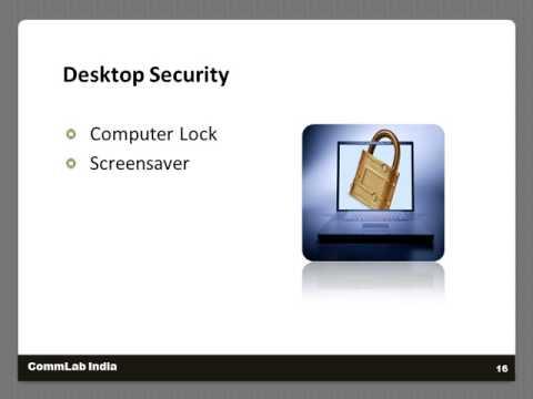 Information Security Training Topics