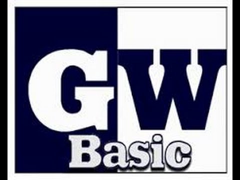 How To Download And Install GW Basic