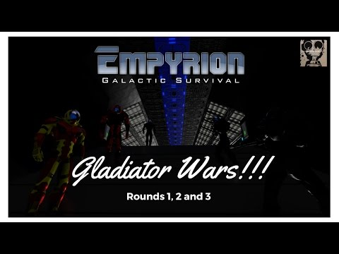 Let's Play: Empyrion Galactic Survival - Wolves Server - Gladiator Wars!!!