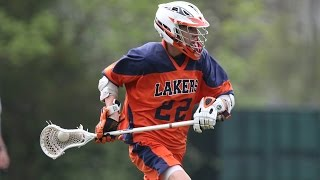 drew brennfleck spring 2015 lacrosse highlights mountain lakes hs class of 2019