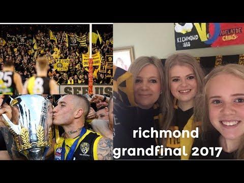 Richmond wins the grand final 2017!!!!!!....Vlog 27