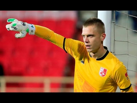 ALEKSANDAR JOVANOVIC goalkeeper FC RADNICKI NIS 2015 2016