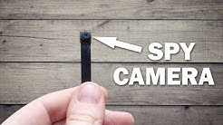 This Spy Camera is really TINY - How to setup and use DIY WiFI hidden spy camera