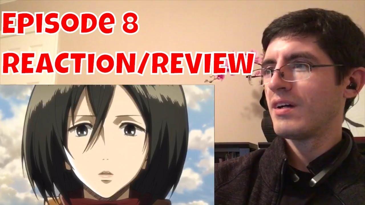 Attack on Titan Episode 8 REACTION/REVIEW - YouTube