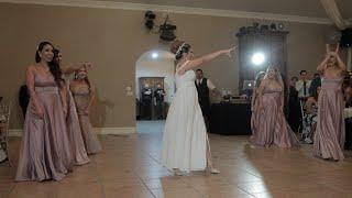 Bride SURPRISES Groom With Choreographed Dance At Their Wedding  Villa De Amore, CA