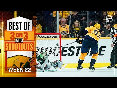 Best 3-on-3 OT and Shootout Moments from Week 22