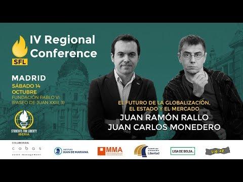 Globalización - Juan Carlos Monedero y Juan Ramón Rallo #QuieroLibertad