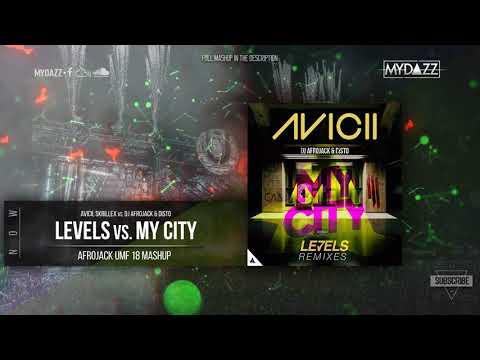 Levels vs. My City (Afrojack UMF 18 Mashup) with JASX