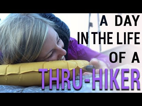 A Day In The Life Of A Thru-Hiker