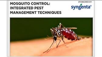 Webinar: An IPM Approach to Mosquito Control
