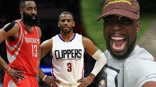 CURRY CANT HIDE!! CHRIS PAUL TRADED TO THE ROCKETS! FINALLY COMPETITION ON THE WEST! thumbnail