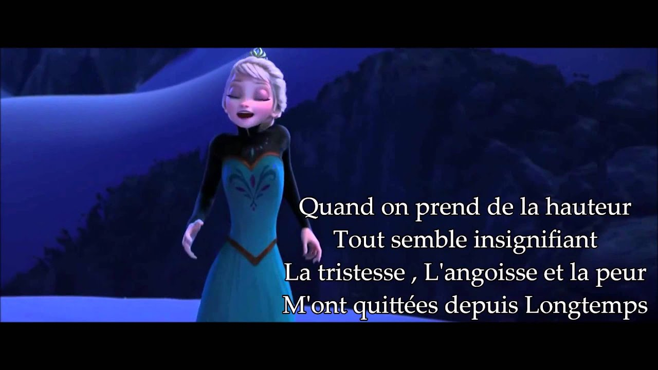 Lyrics film lib r e d livr e la reine des neige youtube - Photo de la reine des neige ...