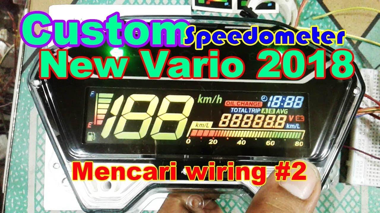 Modif Sdo Vario 2018 (mencari wiring #2) on