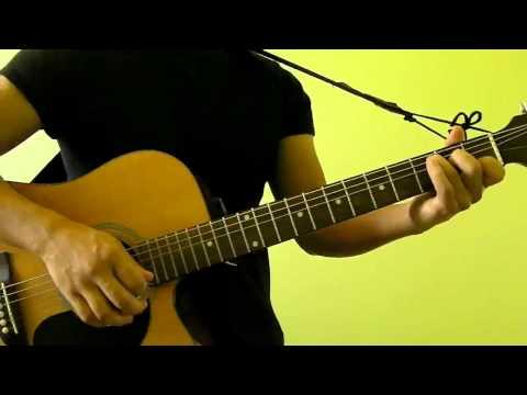 The Scientist - Coldplay - Easy Guitar Tutorial (No Capo)
