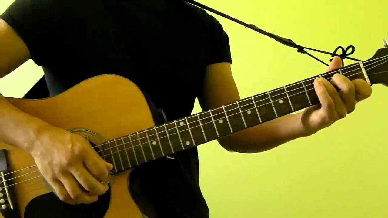 The Scientist Coldplay Easy Guitar Tutorial No Capo Youtube
