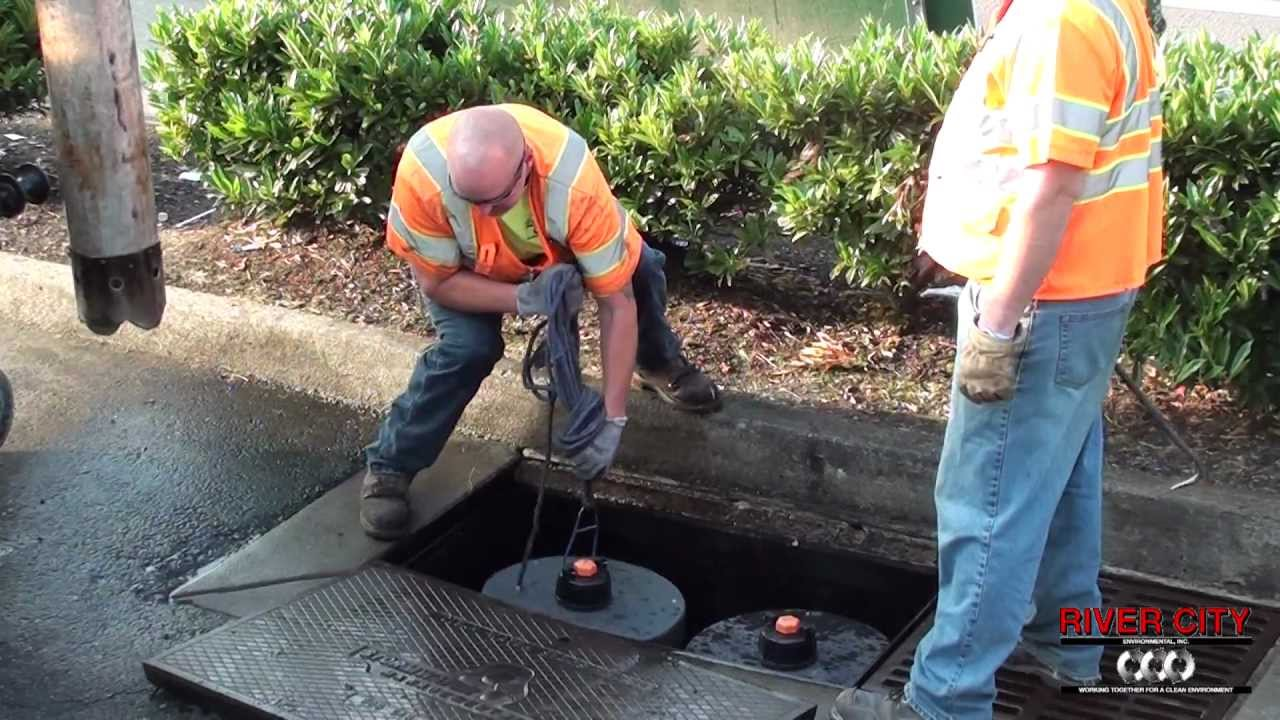 how to clean catch basin