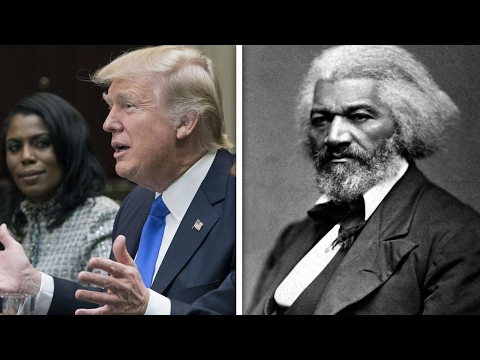 Trump Flubs Black History Month Speech