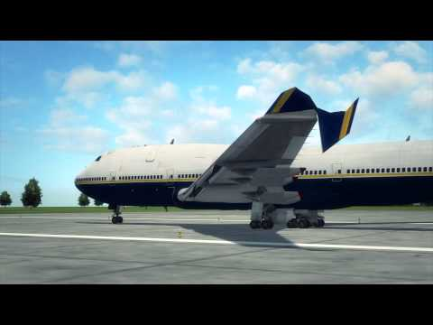 Ryanair plane clips another plane while taxiing at Dublin Airport