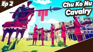 TABS 5+1 Chu Ko Nu and Cavalry vs each unit! For the same price Totally Accurate Battle Simulator