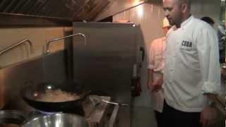 Adam D'Sylva Cooks a Fish Dish on the Jahan