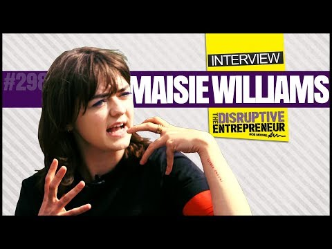 Maisie Williams on Dance, Risk Taking and her Business Startup (TDE)