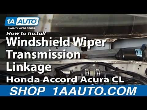 How to Replace Windshield Wiper Transmission Linkage 94-97 Honda Accord