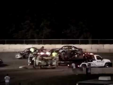 Shawano Speedway Crash!!! THE BIG ONE!!!