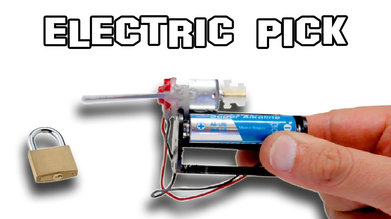 Image result for homemade electric pick