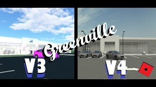 Roblox - Greenville || Comparing the Current GV to the Revamp