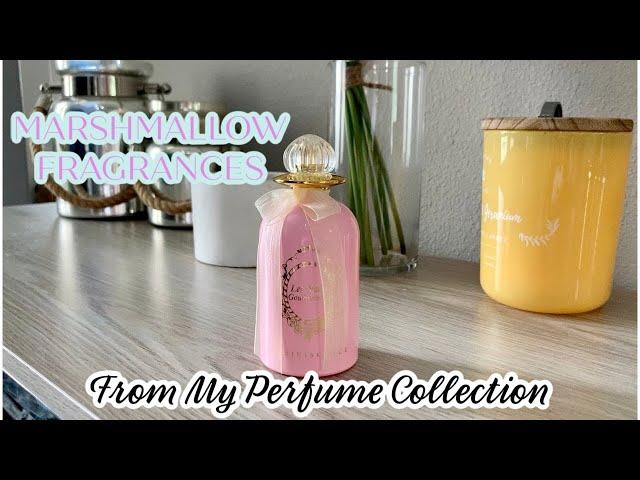 Perfume Collection   Marshmallow Fragrances