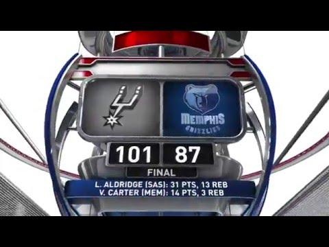 San Antonio Spurs vs Memphis Grizzlies - March 28, 2016