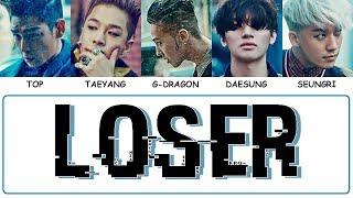 BIGBANG - LOSER (Easy Lyrics + Indo Sub) by GOMAWO