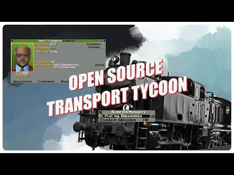 OpenTTD - GER - Open Source Alternative zu Transport Fever & Co.