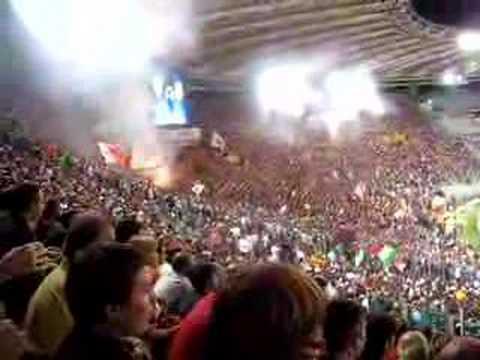 po-po-po-popopopo ...roma fans sing white stripes song