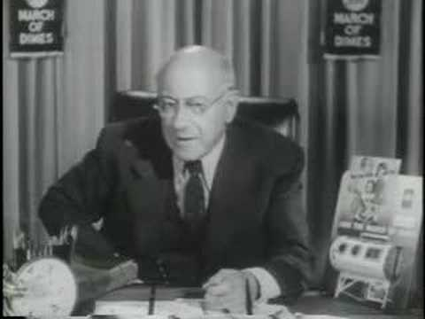 Cecil B. Demille for the March of Dimes