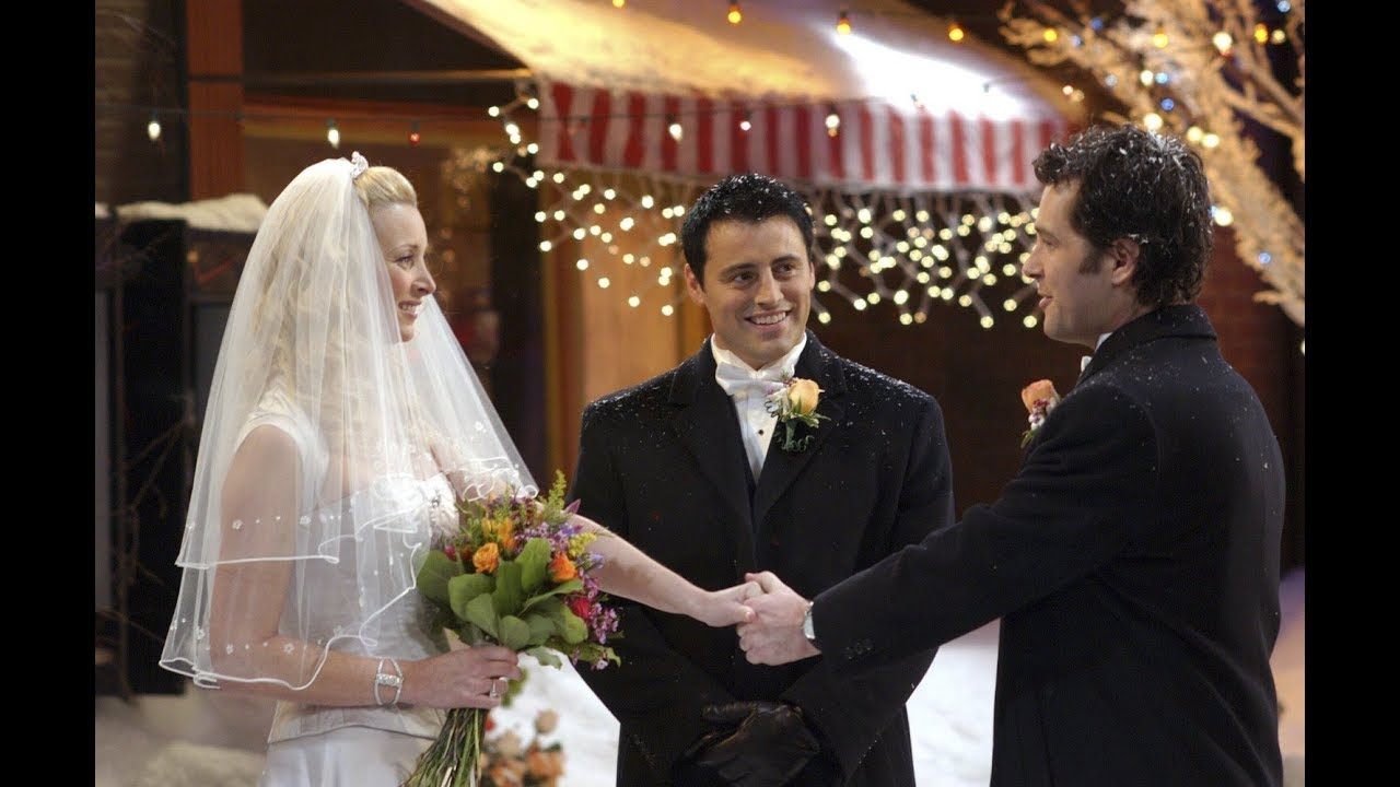 Friends Season 10 Episode 12: The One with Phoebe's Wedding Deleted Scenes