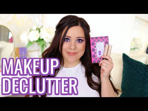 MAKEUP DECLUTTER 2018! PRODUCTS THAT ARE LEAVING MY COLLECTION