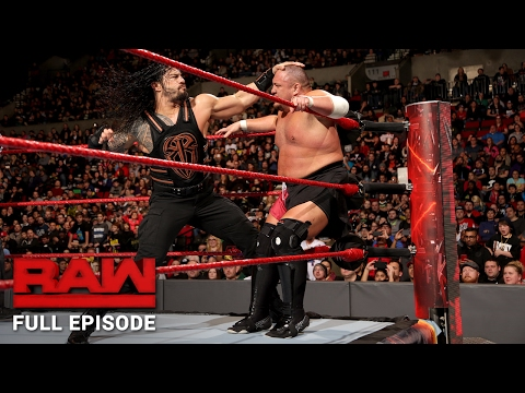WWE RAW Full Episode, 6 February 2017