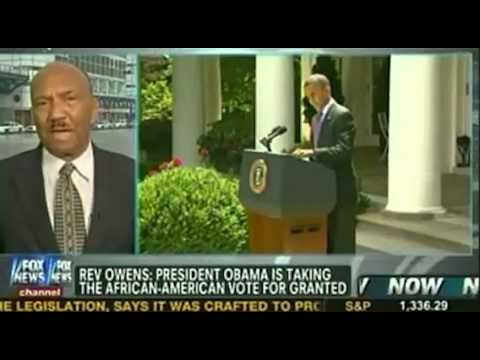 Rev. Bill Owens to Megyn Kelly: Obama is Taking the Black Vote for Granted