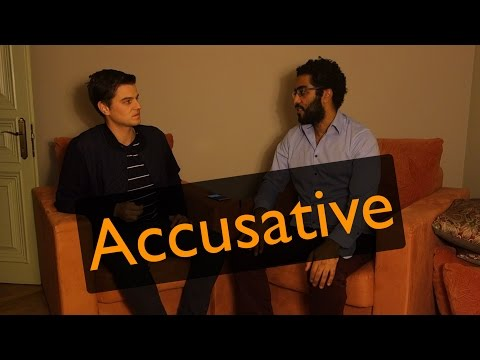 Case #2: How to use the Accusative Case?