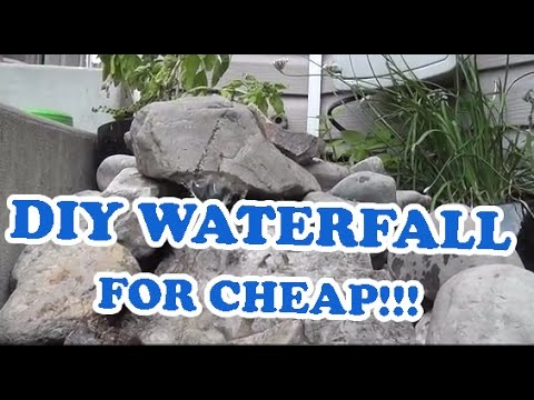 Diy landscaping outdoor pondless waterfall pond project for Build your own waterfall pond