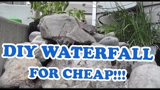 Diy Landscaping Outdoor Pondless Waterfall Project For Cheap! Timelapse