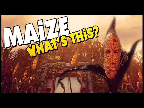 THE CORN IS ALIVE! - Maize - Ep. 1 - What Is This!? [Let's Play Maize Gameplay] Sponsored