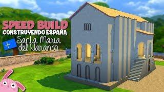 SPEED BUILD | SANTA MARÍA DEL NARANCO | Asturias | Colaboración Construyendo España | Los Sims 4