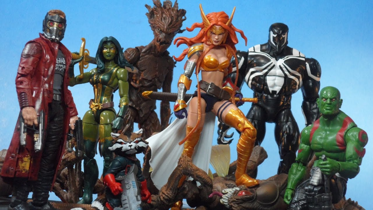 "Angela 6/"" Marvel Legends Guardians of the Galaxy Vol 2 Titus BAF"