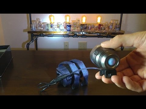 Bright Eyes 1200 Lumen Headlight Unboxing
