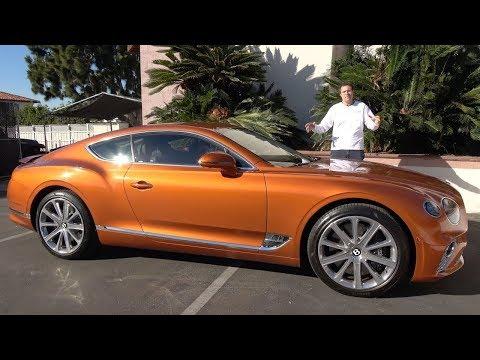 Bentley Continental GT 2019 года – это ультра-люксовое купе за $250 000